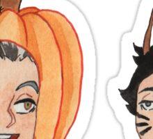 Halloween Costumes Sticker