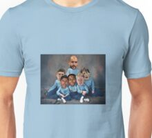 Family portrait - City  Unisex T-Shirt