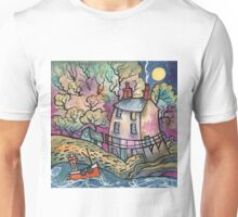 Evening Calm, The Dylan Thomas Boathouse, Wales Unisex T-Shirt