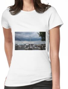 Afternoon Storm Womens Fitted T-Shirt