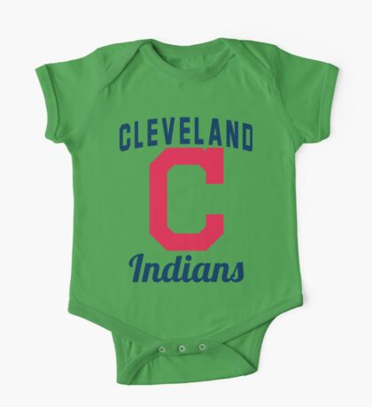 Cleveland Indians One Piece - Short Sleeve