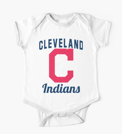 Cleveland Indians One Piece - Short Sleeve