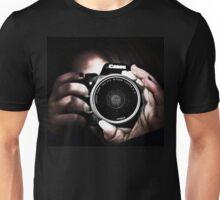 Holding Camera Unisex T-Shirt