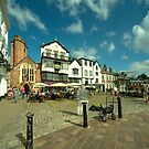 Exeter Shops on the Green  by Rob Hawkins