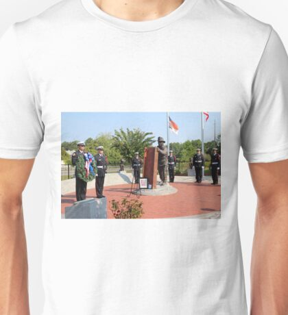 Wreath Ceremony Unisex T-Shirt
