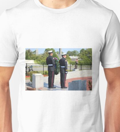 9 11 Memorial Service  Unisex T-Shirt