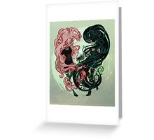 Bonnibel and Marcy: Complete me Greeting Card