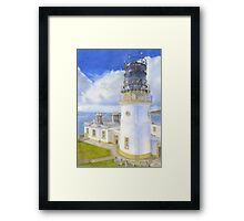 Sumburgh Head Lighthouse Framed Print