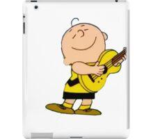 Charlie Brown Guitar iPad Case/Skin