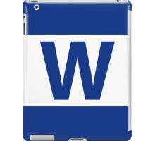 Chicago Cubs Majestic W Flag iPad Case/Skin