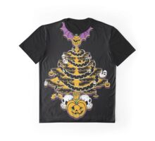 Halloween Tree Graphic T-Shirt