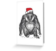 Harambe for Christmas Greeting Card