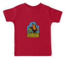Great Smoky Mountains National Park Vintage Travel Decal Kids Tee