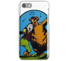 Great Smoky Mountains National Park Vintage Travel Decal iPhone Case/Skin