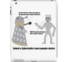 Robott & Cyberstello iPad Case/Skin