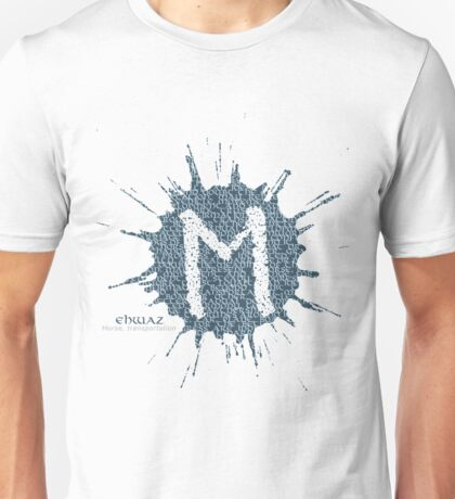 Magnus Chase - Norse Rune Series - Ehwaz: Horse, Transportation Unisex T-Shirt
