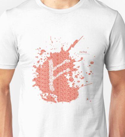 Magnus Chase - Norse Rune Series - Fehu: The Rune of Frey Unisex T-Shirt