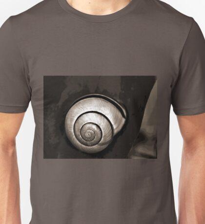 Snail mono images Unisex T-Shirt