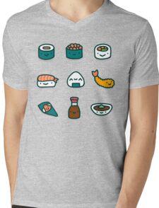 Sushi Lover Mens V-Neck T-Shirt