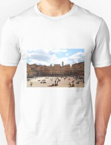All About Italy. Piece 13 - Piazza del Campo in Siena T-Shirt