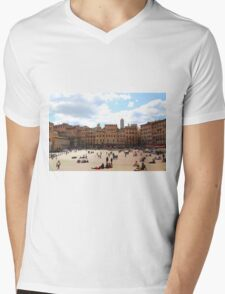 All About Italy. Piece 13 - Piazza del Campo in Siena Mens V-Neck T-Shirt