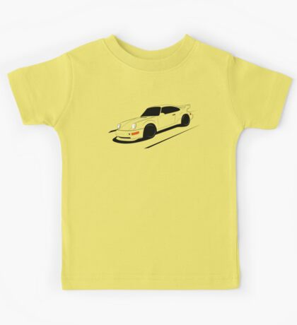 Air-cooled German Sports Car Kids Tee