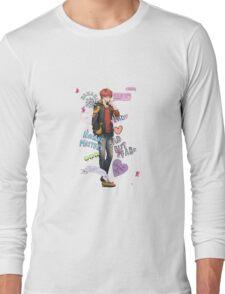 Collage Seven Zero Seven Long Sleeve T-Shirt