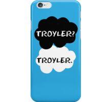 Troyler - TFIOS iPhone Case/Skin