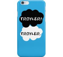 Troyler - TFIOS iPhone Case/Skin