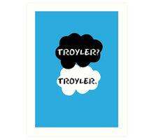 Troyler - TFIOS Art Print