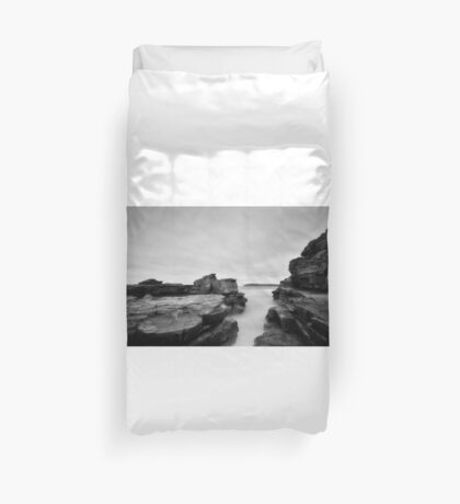 Cadillac beach Duvet Cover