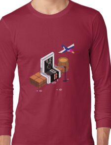Old Nintendo Long Sleeve T-Shirt