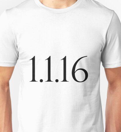 1.1.16 --- Sherlock Unisex T-Shirt
