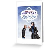 And a Happy New Year - BBC Sherlock Greeting Card