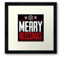 Merry Blissmas - Alexa Bliss Framed Print