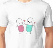 Happiness in a pill Unisex T-Shirt