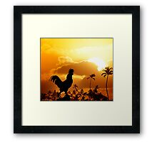 Contrarian  Framed Print