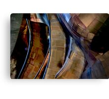 Architectural Abstract, EMC Museum Canvas Print