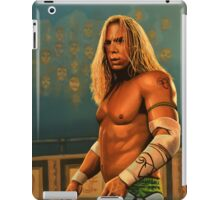 Mickey Rourke as The Wrestler Painting iPad Case/Skin