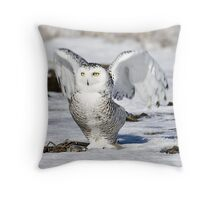 At the dawn I'm waking Throw Pillow