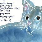 Cat Eyes in Moonlight by dosankodebbie