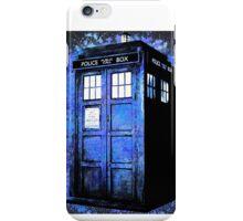 Dr Who Tardis Splatter iPhone Case/Skin