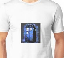 Dr Who Tardis Splatter Unisex T-Shirt