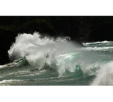 wave watching Photographic Print