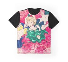 Sailor Uranus And Neptune Graphic T-Shirt