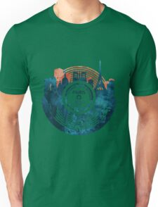 Paris City Vinyl Record Unisex T-Shirt