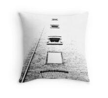 floating rooms Throw Pillow