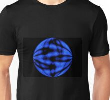 Blue Black Design Unisex T-Shirt