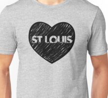 I Love Saint Louis - I Heart STL (Urban) Unisex T-Shirt