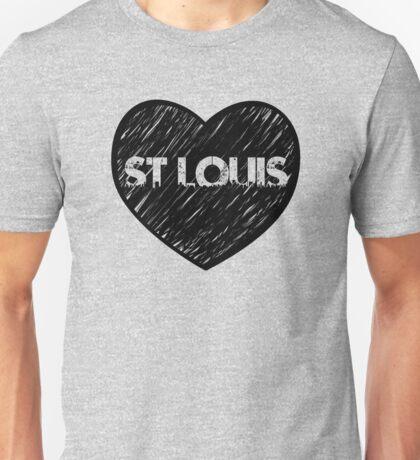 I Love Saint Louis - I Heart STL (Urban) Unisex T-Shirt